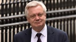 Brexit Secretary David Davis said if no trade deal is secured with the EU, Britain would not have to pay its agreed exit bill