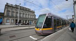 Daft.ie said three bedroom homes along the new Cross City Luas route have seen a dramatic rise in values