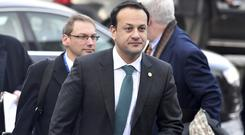 Mr Varadkar was speaking in Brussels ahead of the EU Summit (AP/PA)