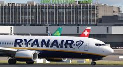 Ireland's Impact trade union said the strike by Ryanair pilots has been suspended