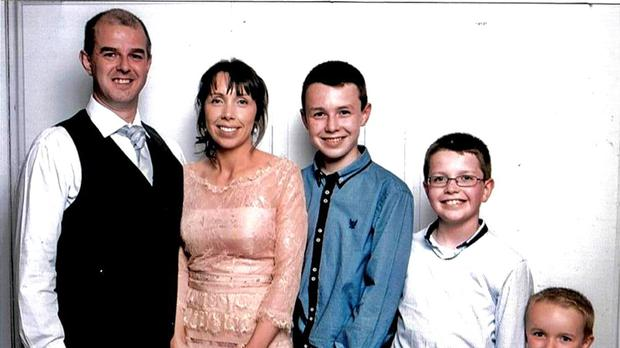 Alan Hawe killed his wife Clodagh and their children Liam, 13, Niall, 11 and Ryan, six