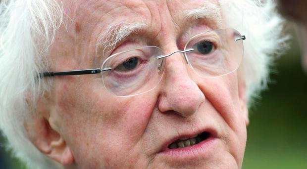 President Michael D Higgins has called on people to remember the homeless in his Christmas and new year message