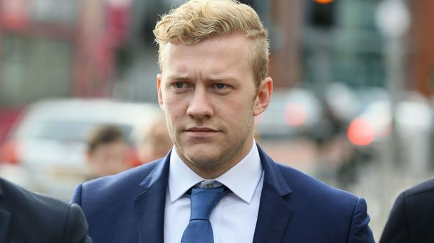 Stuart Olding will now face a single rape charge, which he denies