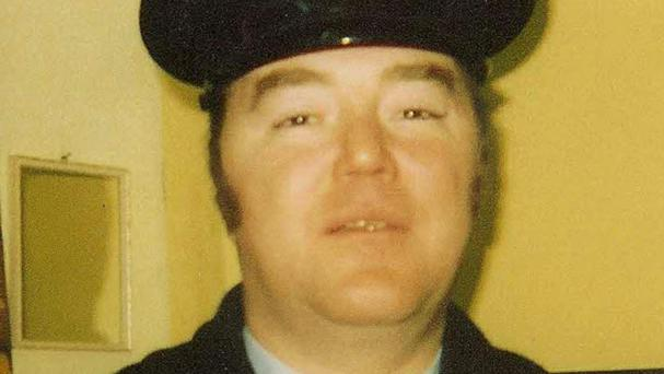 Brian Stack was shot in the neck in March 1983 and died 18 months later (Irish Prisons/PA)