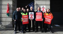 Irish Rail is losing its chief executive as a dispute with drivers and rail workers has led to strikes