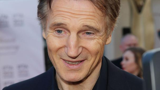 Irish movie star Liam Neeson received a major award in his home country