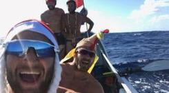The Four Oarsmen completed the Talisker Whisky Atlantic Challenge in record time