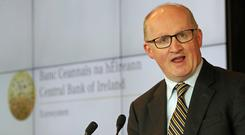 Governor of the Central Bank of Ireland Philip Lane.
