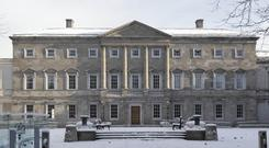 Leinster house in Dublin (Niall Carson/PA Archive)