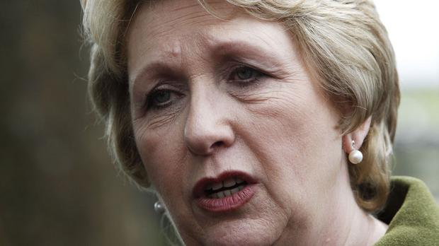 Former President Mary McAleese Picture: PA