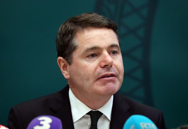 Finance Minister Paschal Donohoe (Niall Carson)