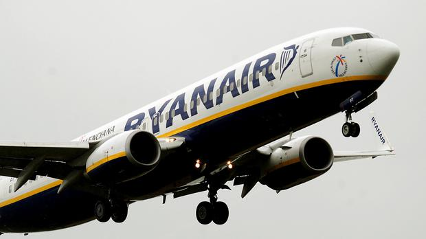 There are approximately 600 Ryanair pilots in Italy, and about 350 of those are represented by Anpac. Stock photo: PA