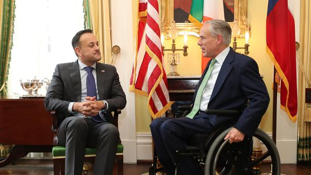 Gov. Fallin welcomes Irish Prime Minister to Oklahoma
