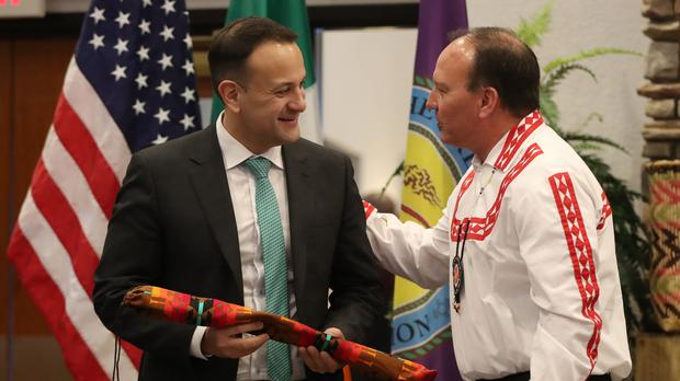Taoiseach visits United States of America