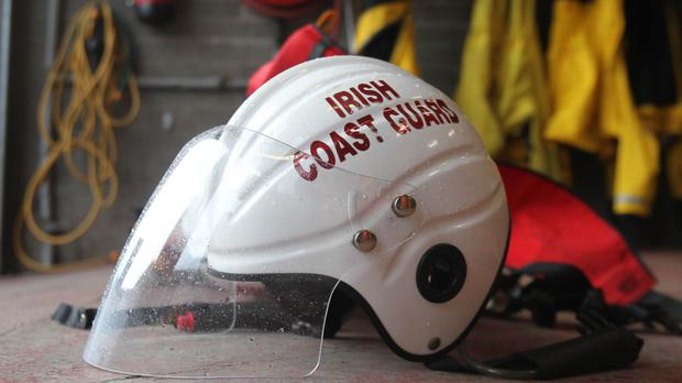 A sailor had to be rescued twice on Saturday evening after running aground for a second time after earlier being towed to safety by the Irish Coast Guard. Stock Image