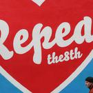 A person passes a mural in Dublin's Temple Bar calling for a repeal of the Eighth Amendment (Niall Carson/PA)