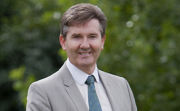 Irish singer Daniel O'Donnell