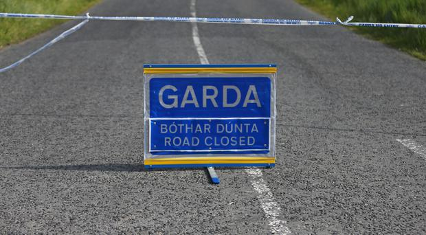 The road is currently closed with local diversions in place (PA)