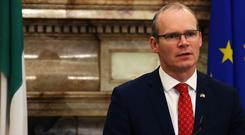 Simon Coveney said he will emphasise that Ireland wants the 'closest possible relationship between the EU and UK' (Brian Lawless/PA)