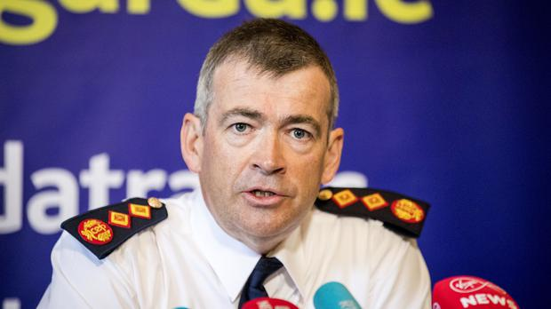 New Garda Commissioner Drew Harris during a press conference at Garda Headquarters in Dublin (Liam McBurney/PA)