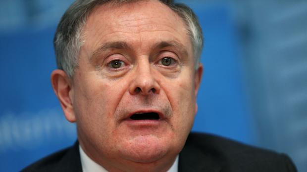 Brendan Howlin said the goal of 14 seats was realistic (Brian Lawless/PA)