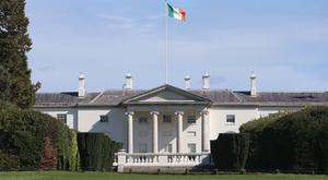 Aras an Uachtarain, home of the Irish President (Niall Carson/PA)