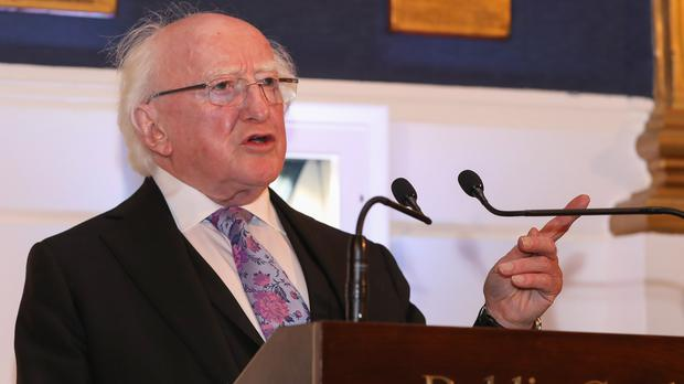 Michael D Higgins (Maxwell Photography/PA)