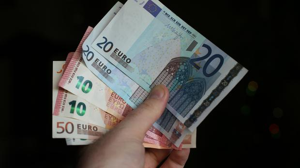 A total of 151,800 workers will benefit when the €9.55 an hour rate rises by 25c on January 1. Stock image