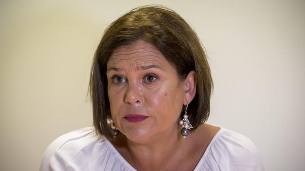Mary Lou McDonald said Sinn Fein had proposed the introduction of an emergency temporary tax relief for renters (Liam McBurney/PA)