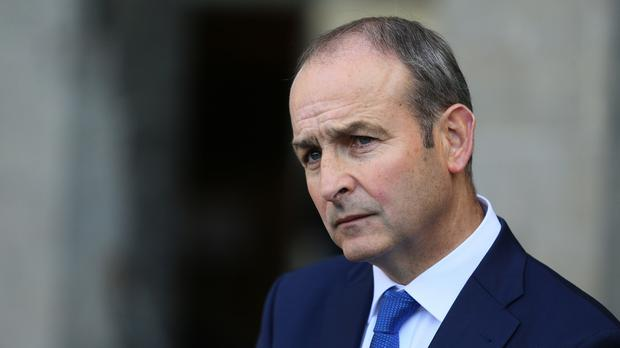 Micheal Martin has named a four-strong team to conduct talks on the supply and confidence arrangement (Brian Lawless/PA)