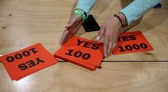 Sinn Fein had campaigned for a Yes vote in the abortion referendum earlier this year (Brian Lawless/PA)
