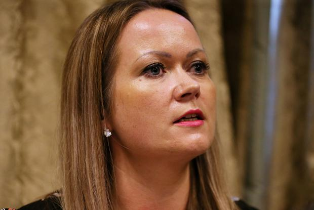 Lorraine Walsh, who received an incorrect smear test Photo: Brian Lawless/PA