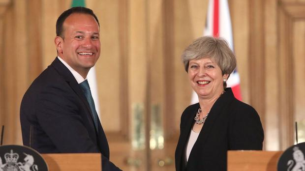 The Taoiseach's offer of a review to British Prime Minister Theresa May was at best premature and at worst a strategic error. Photo: PA