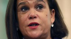 Mary Lou McDonald (Brian Lawless/PA)