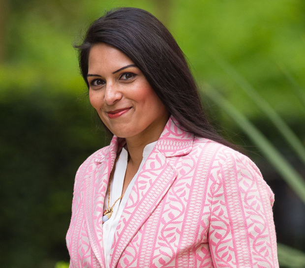 MP Priti Patel is the daughter of Ugandan Asian immigrants to Britain.