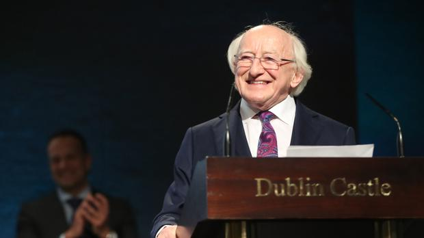 Michael D Higgins has published a Presidential Review of his first term (Niall Carson/ PA)