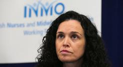 Frustration: INMO general secretary Phil Ní Sheaghdha. Photo: PA
