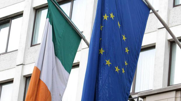 'The only option that will not damage the structure of the peace we have so painstakingly built between Ireland and Britain, and within the island of Ireland, would be for the UK to decide to stay in the EU after all' Stock photo