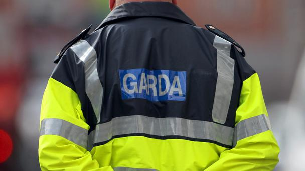 A generic stock photo of a Garda in Dublin.