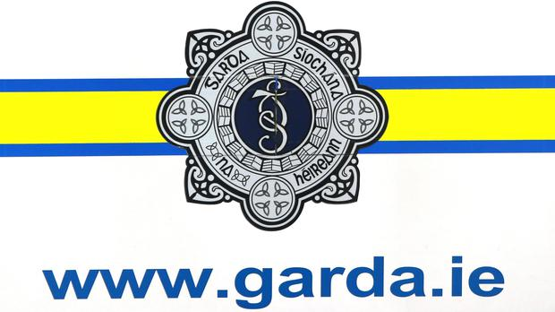 Gardai attended the scene of a fire at a hotel in Rooskey, Co Leitrim on Thursday night (Niall Carson/PA Wire)