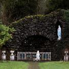 A grotto on the site of the former Sean Ross Abbey Mother and Baby Home (Brian Lawless/PA)