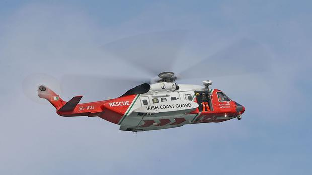 Rescue 117 airlifted the man to hospital