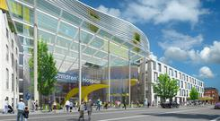 Handout artist impression of the proposed National Children's Hospital (National Children's Hospital/PA)