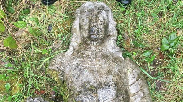 The stolen busts have been recovered (Garda/PA)