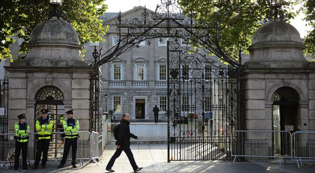 Brexit, we are increasingly told, is what is keeping the current hybrid and ramshackle Dáil and Government together and in office. Stock photo: Niall Carson/PA