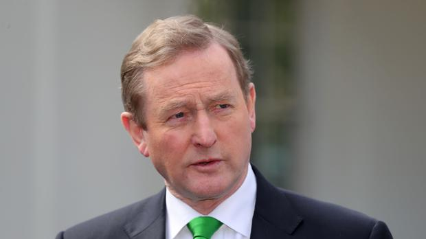 Former taoiseach Enda Kenny. Picture: PA