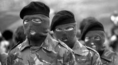 'The hard men of the IRA army council are still in charge' Stock photo
