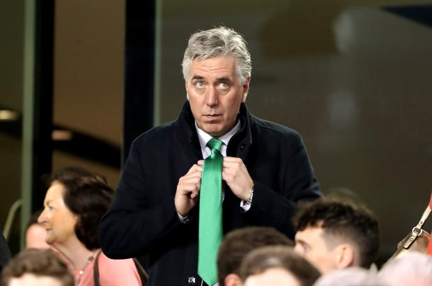 Former chief executive of the Football Association of Ireland John Delaney (Niall Carson/PA)