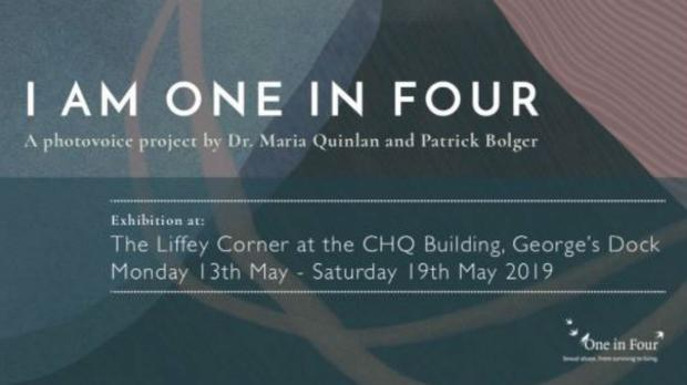 The I Am One In Four exhibition opens this week (One in Four/PA)