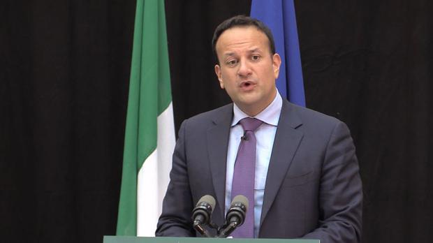 Taoiseach Leo Varadkar confirmed details of the private company's investment in the National Broadband Plan in the Dail on Tuesday (Michelle Devane/PA Wire)